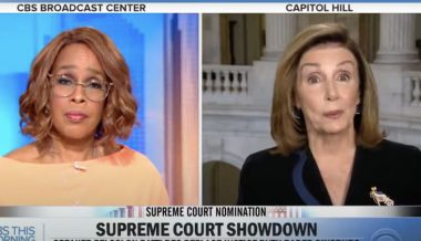 Gayle King Calls Out Pelosi's 'Insulting' Rhetoric After Speaker Slammed Trump's 'Henchmen'