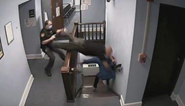 Wild Video: Convict Flees Courthouse During Sentencing