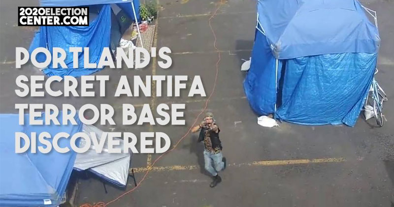 Democrats Caught Funding Secret ANTIFA Terror Base In Portland
