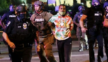 Louisville BLM Protester Only Charged with Assault & Wanton Endangerment For Shooting Line of Police Officers, Injuring Two