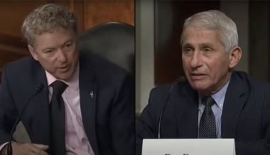 Fauci Flips Out On Rand Paul After Praising Cuomo's Pathetic Coronavirus Response