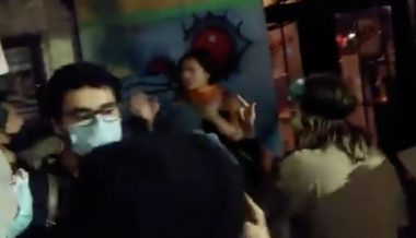 Infowars Reporter Attacked By BLM/Antifa Mob in Downtown Austin