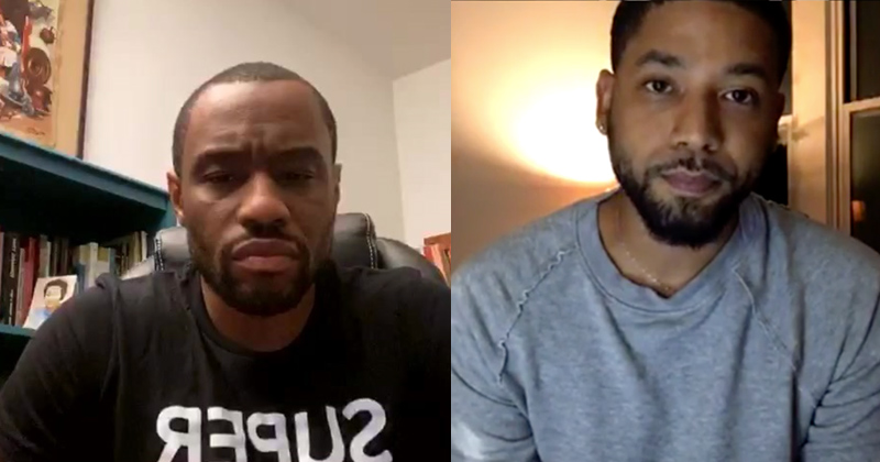 "Watch: Jussie Smollett Gives Rare Interview, Calls ""Hate Hoax"" Accusations ""Bulls*it"""
