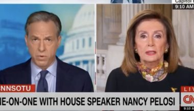 Pelosi Dodges on Whether Dems Will Impeach AG Barr to Derail SCOTUS Confirmation