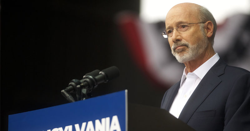 Federal Judge Rules Pennsylvania Gov. Tom Wolf's COVID Lockdowns Unconstitutional