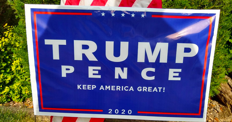 Woman Punches 12-year-old Boy Over Trump 2020 Sign