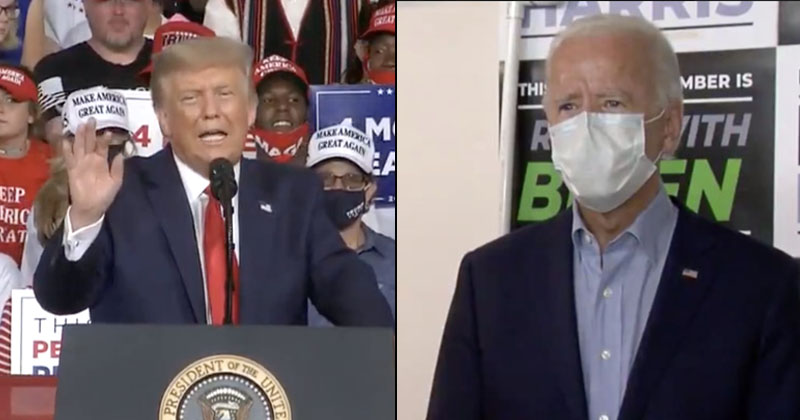 LIVE! Trump Campaigns In Critical Swing States While Biden Gaslights Voters