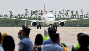First International Passenger Flight Lands in Wuhan Since Start of Outbreak