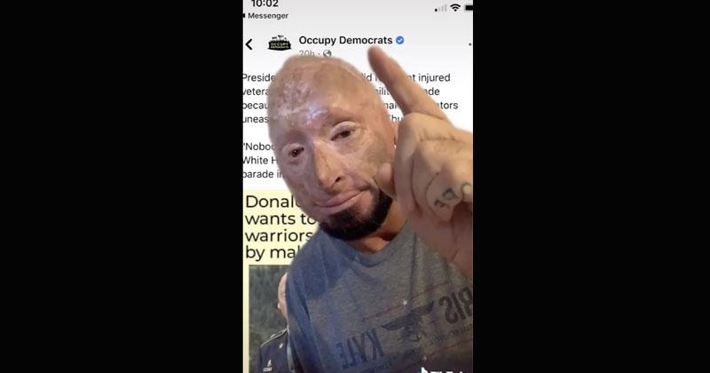 'You're Scum': Iraq War Veteran Blasts Democrats For Using His Image To Disparage Trump