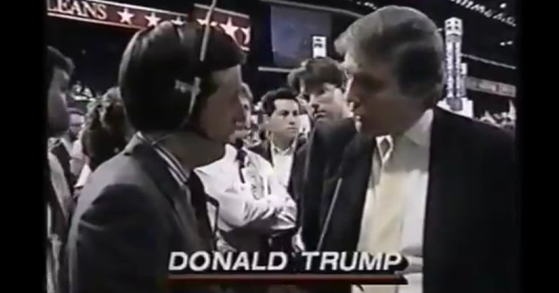 Flashback: Chris Wallace Mocked Trump in 1988 Interview