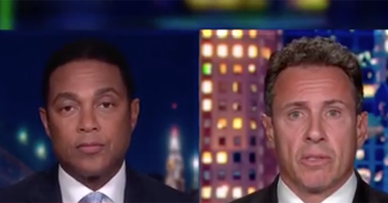 CNN's Cuomo, Lemon: If Hicks, Trump Had Worn Masks 'We May Not Be in This Situation'
