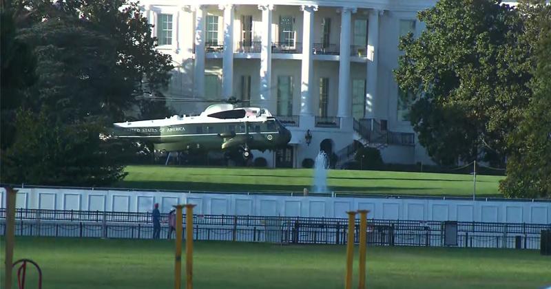 "Trump Heads to Military Hospital as ""Precautionary Measure"""