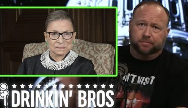 Tomorrow's News Today: Alex Jones Accurately Predicts RBG's Death In 2020